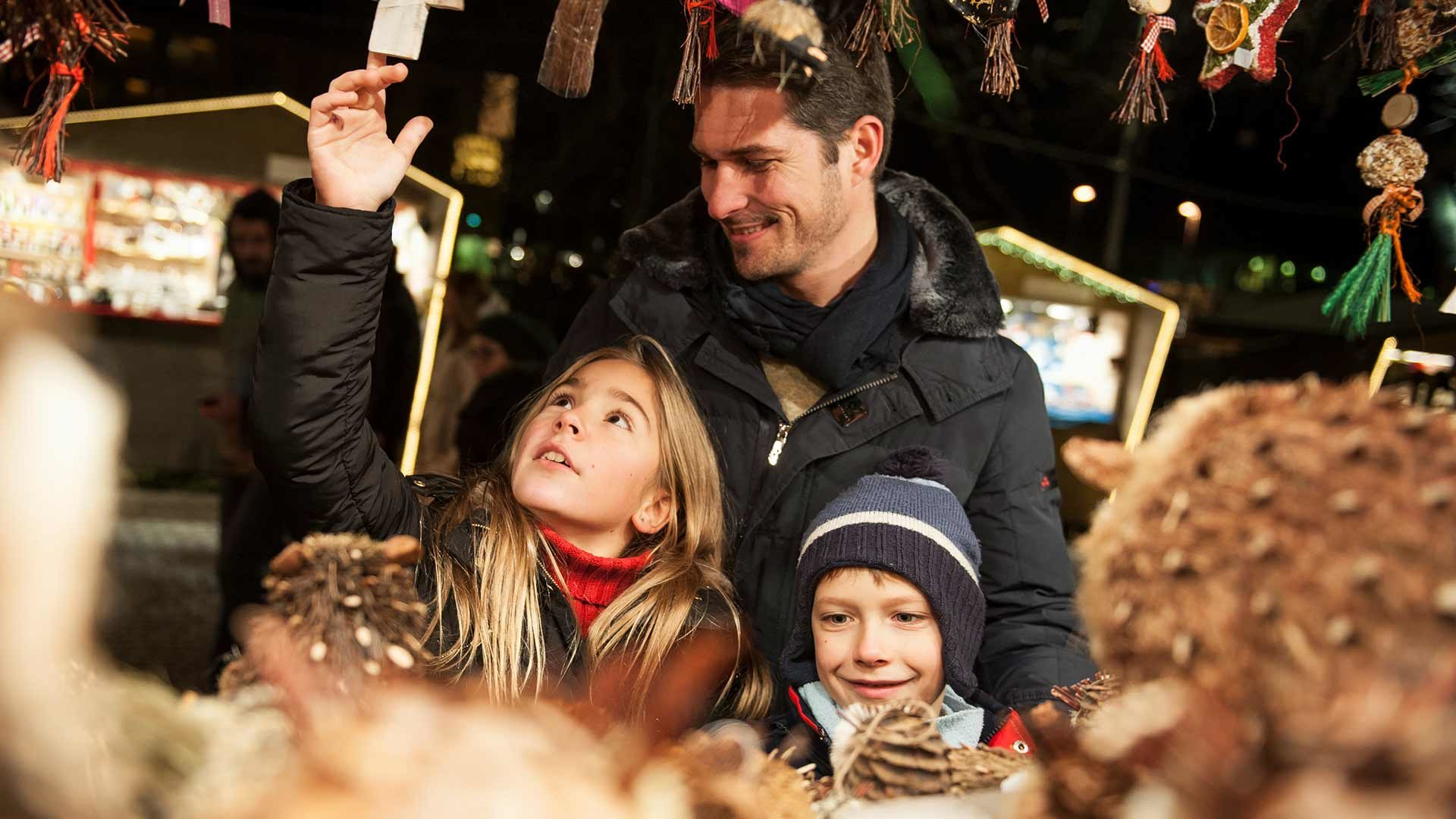 Programma per bambini nel mercatino di Natale