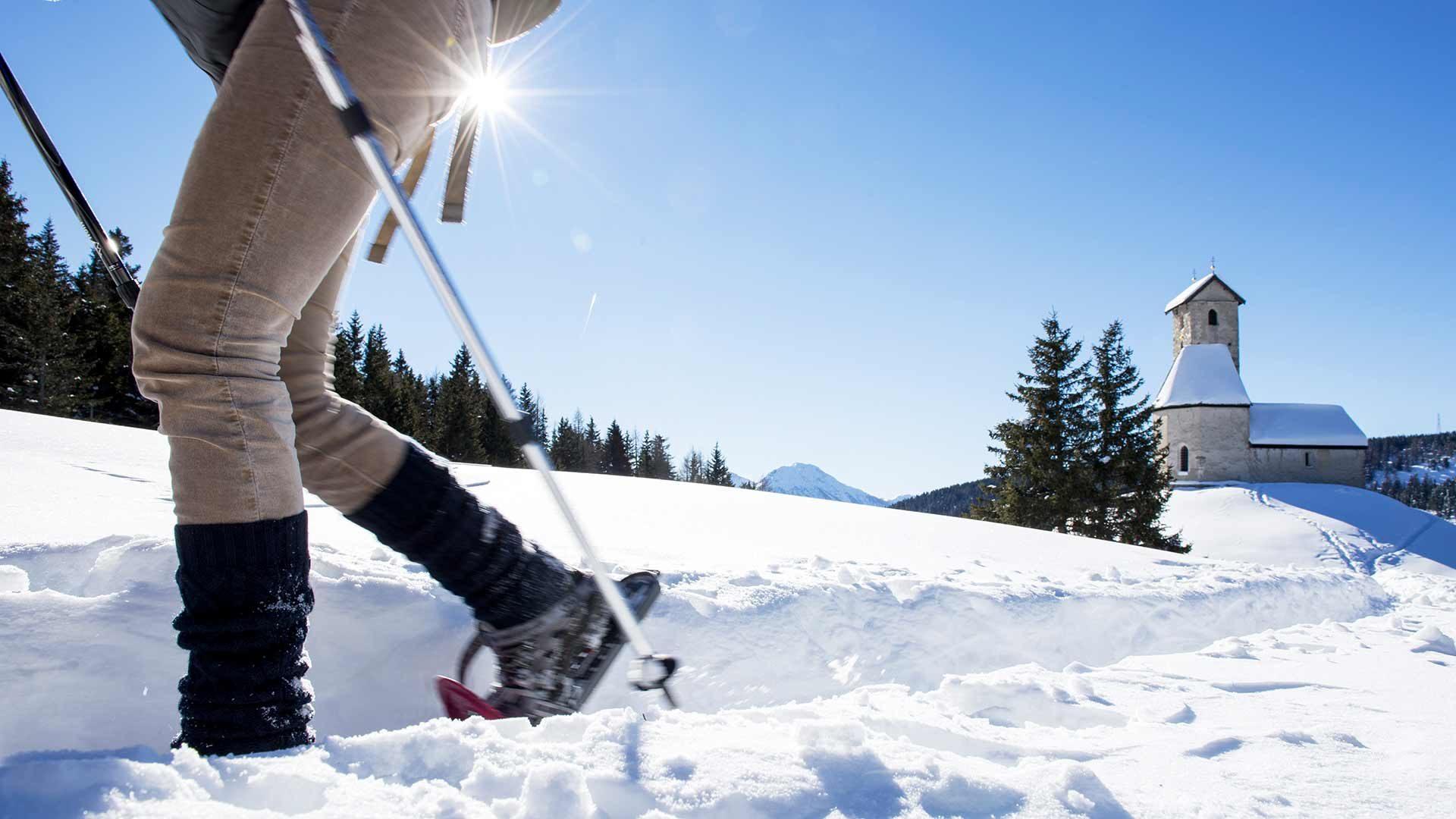 Un'escursione invernale sul Monte San Vigilio