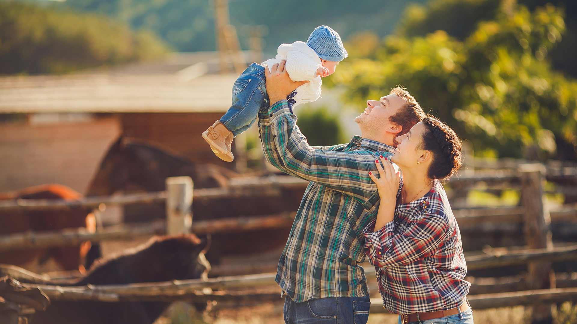 Vacanza in famiglia al maso