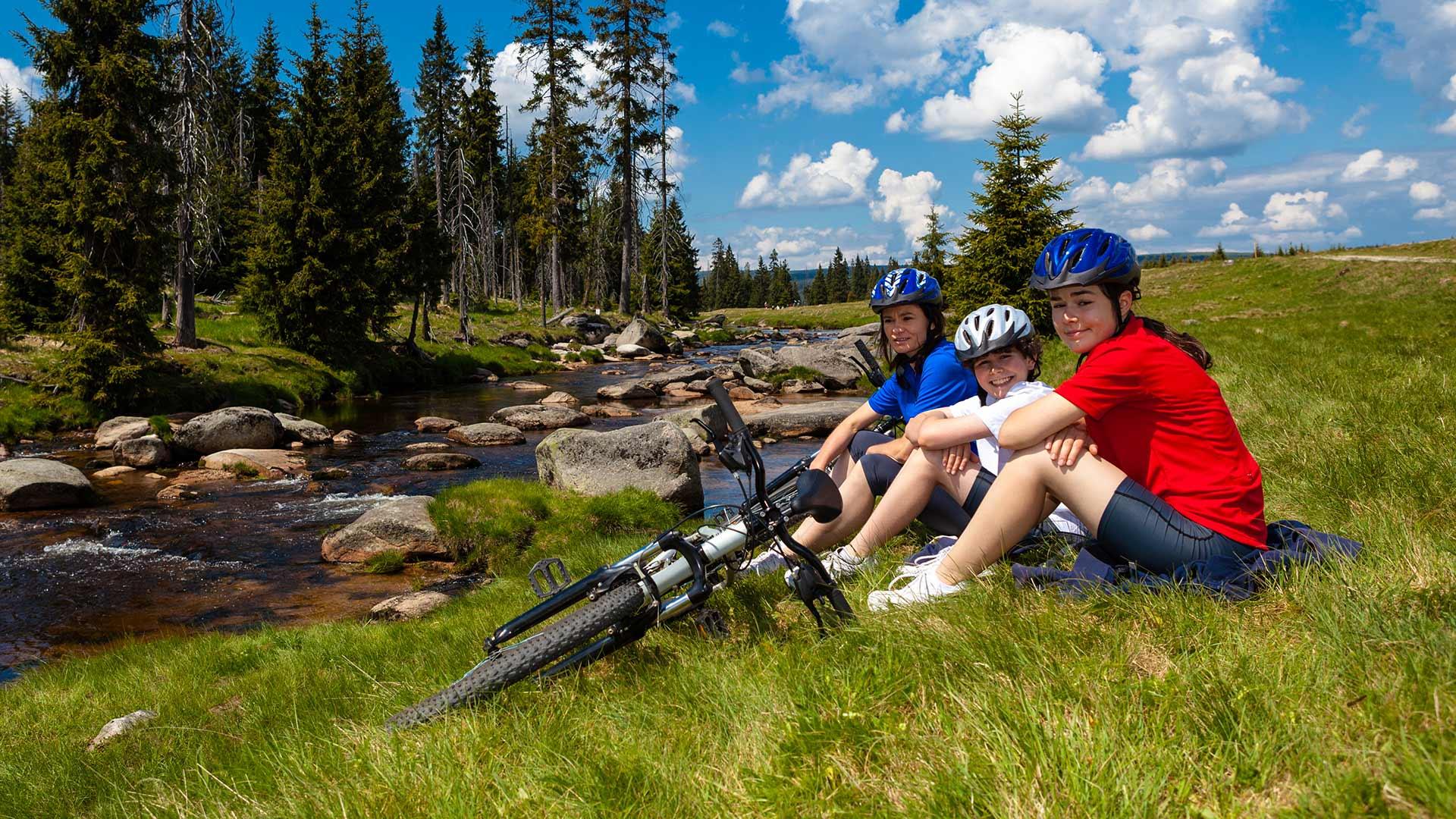 Gita in bicicletta