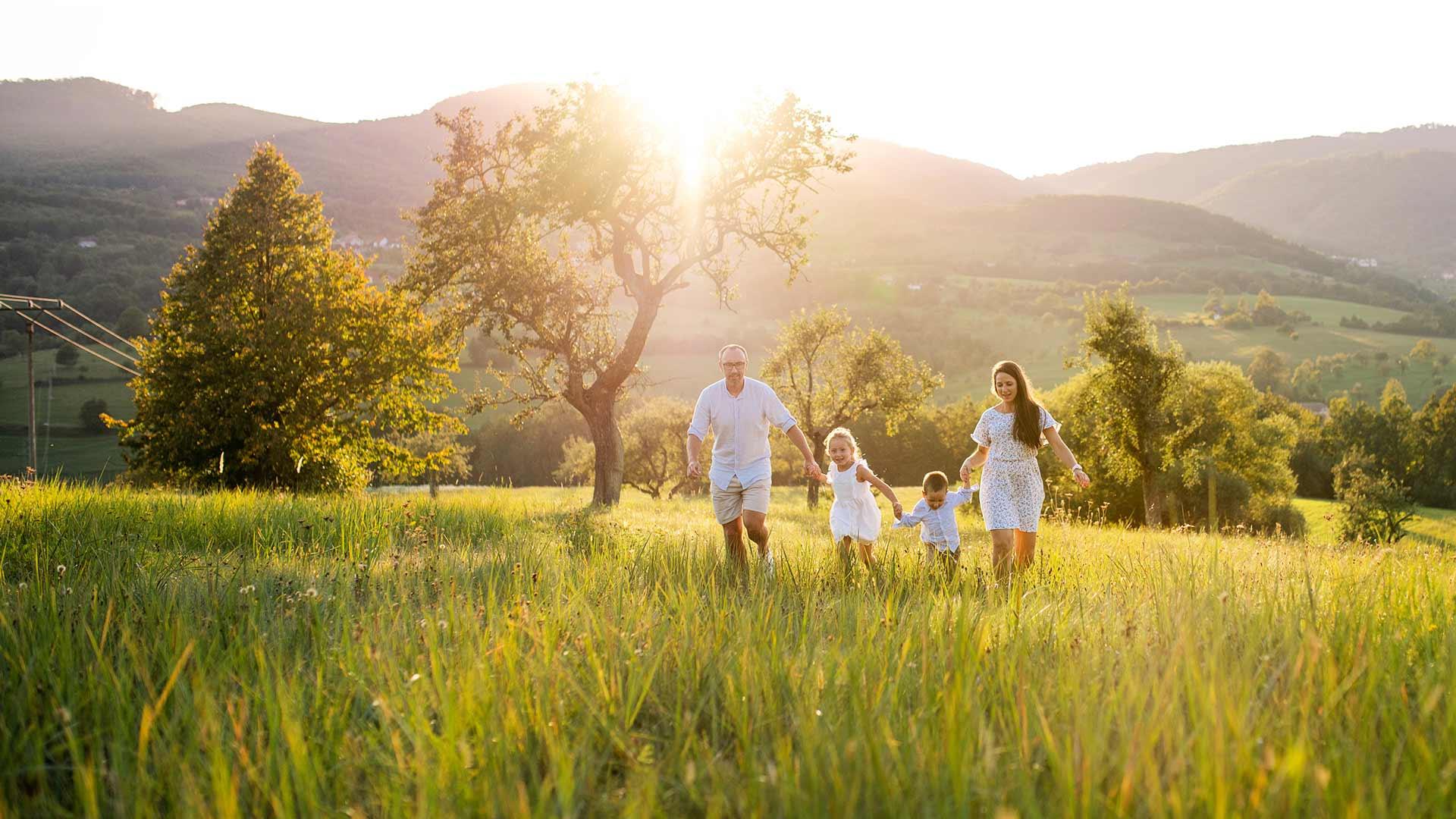 Vacanza in famiglia