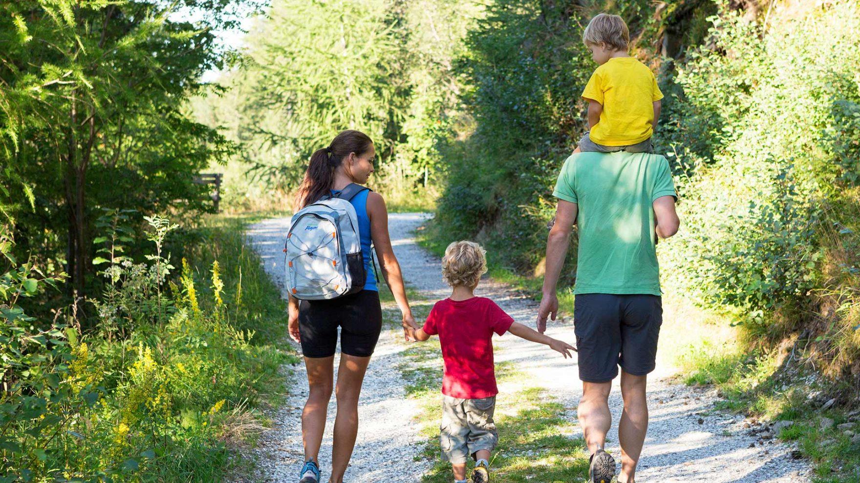 Escursioni con la famiglia a Merano