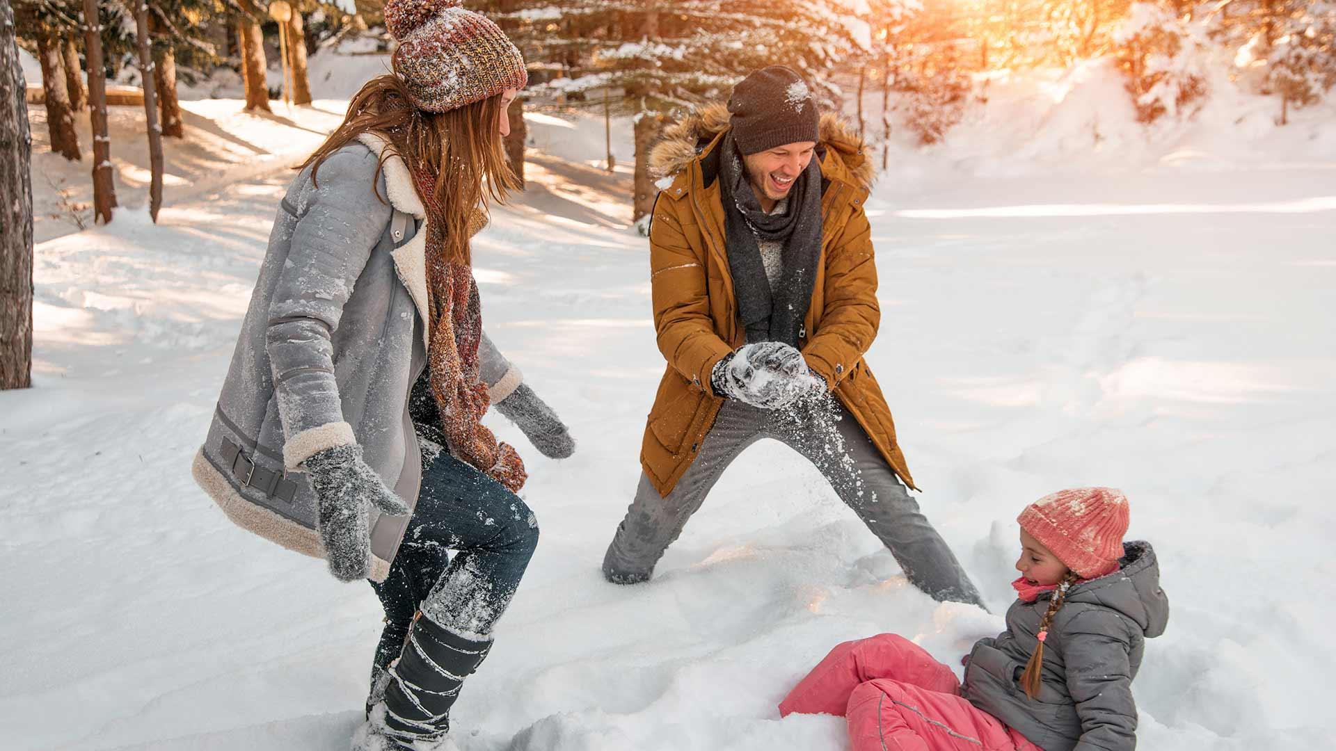 Divertimento sulla neve - Famiglia