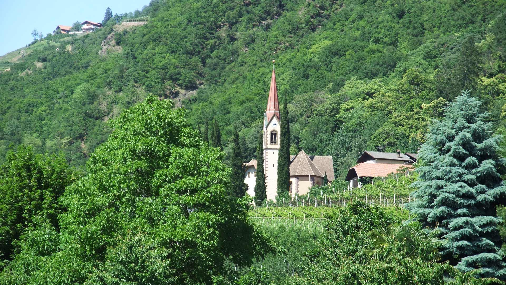 Postal presso Merano - Chiesa