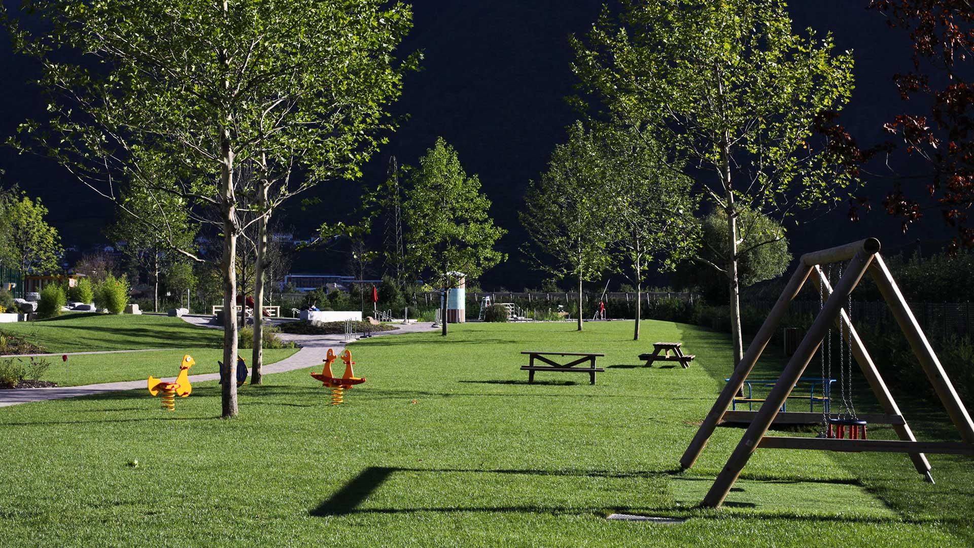 Parco giochi a Gargazzone