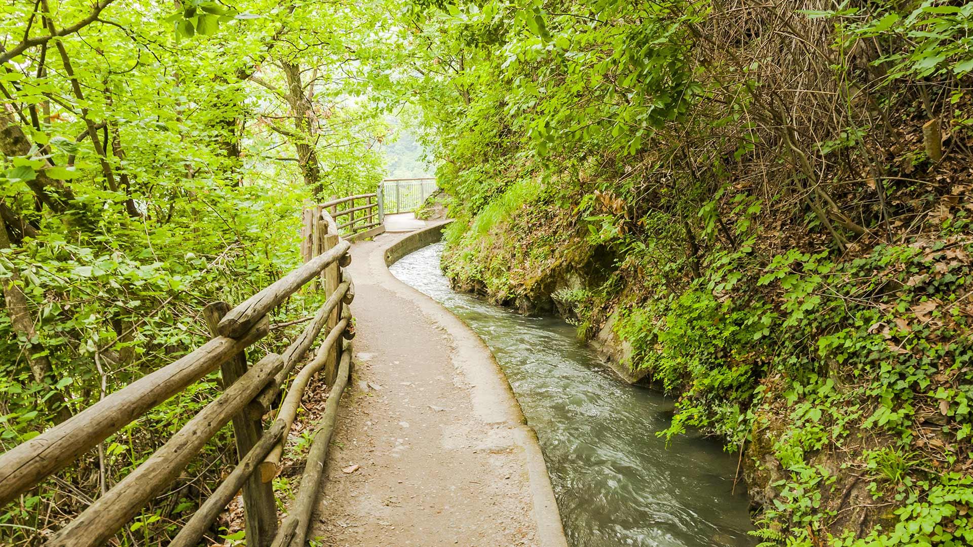 La roggia più lunga dell'Alto Adige - Sentiero della Roggia di Marlengo