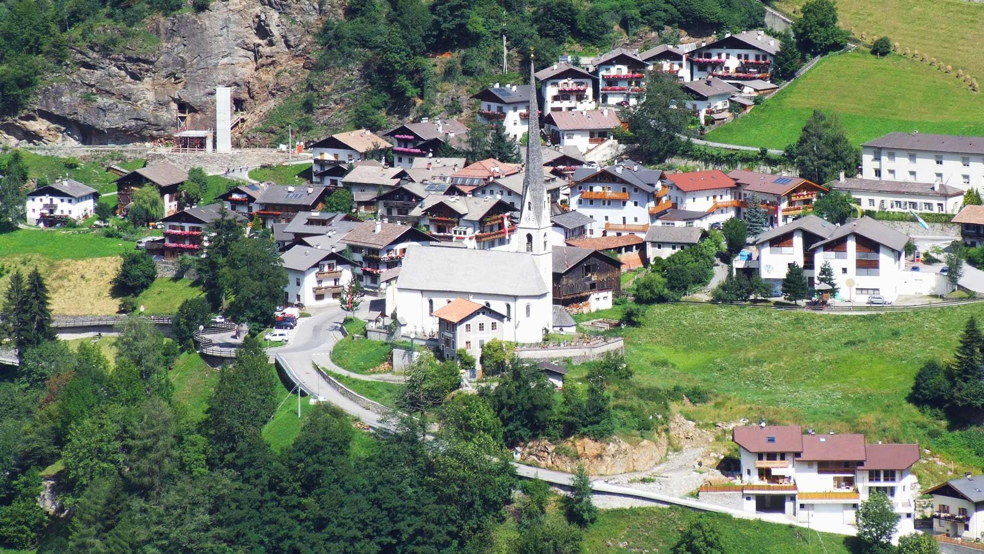 Moso in Passiria nella pittoresca Alta Passiria