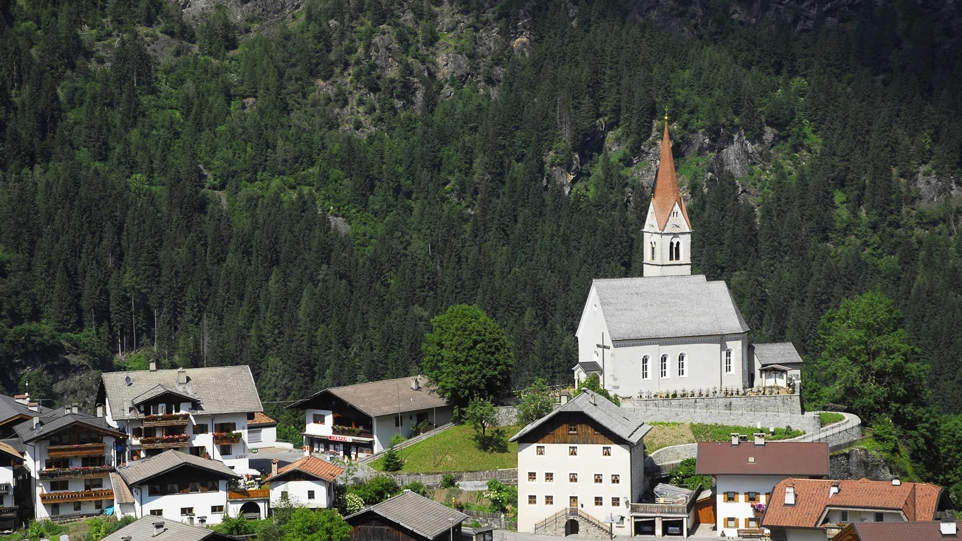 Vista sulla chiesa - Moso in Passiria