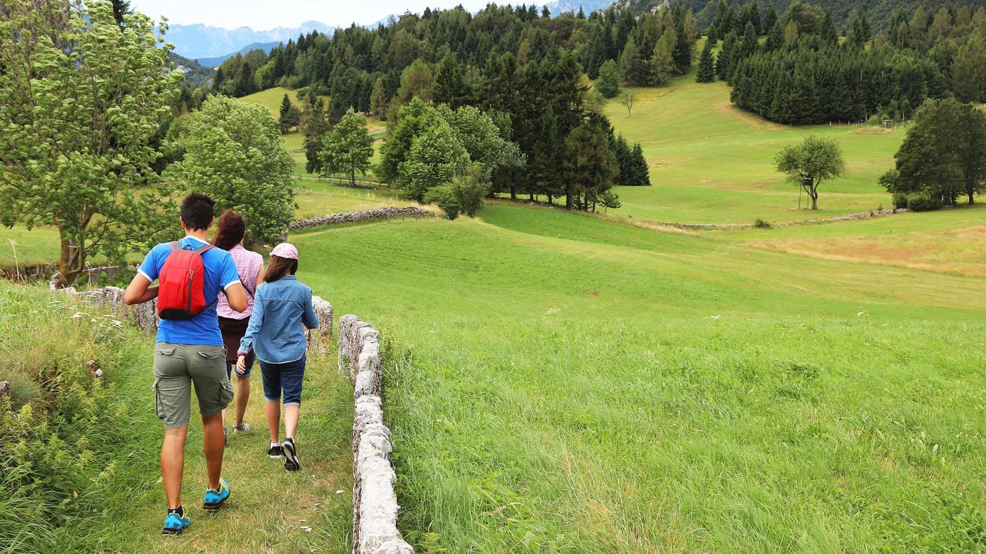 Escursioni a piedi - Plaus