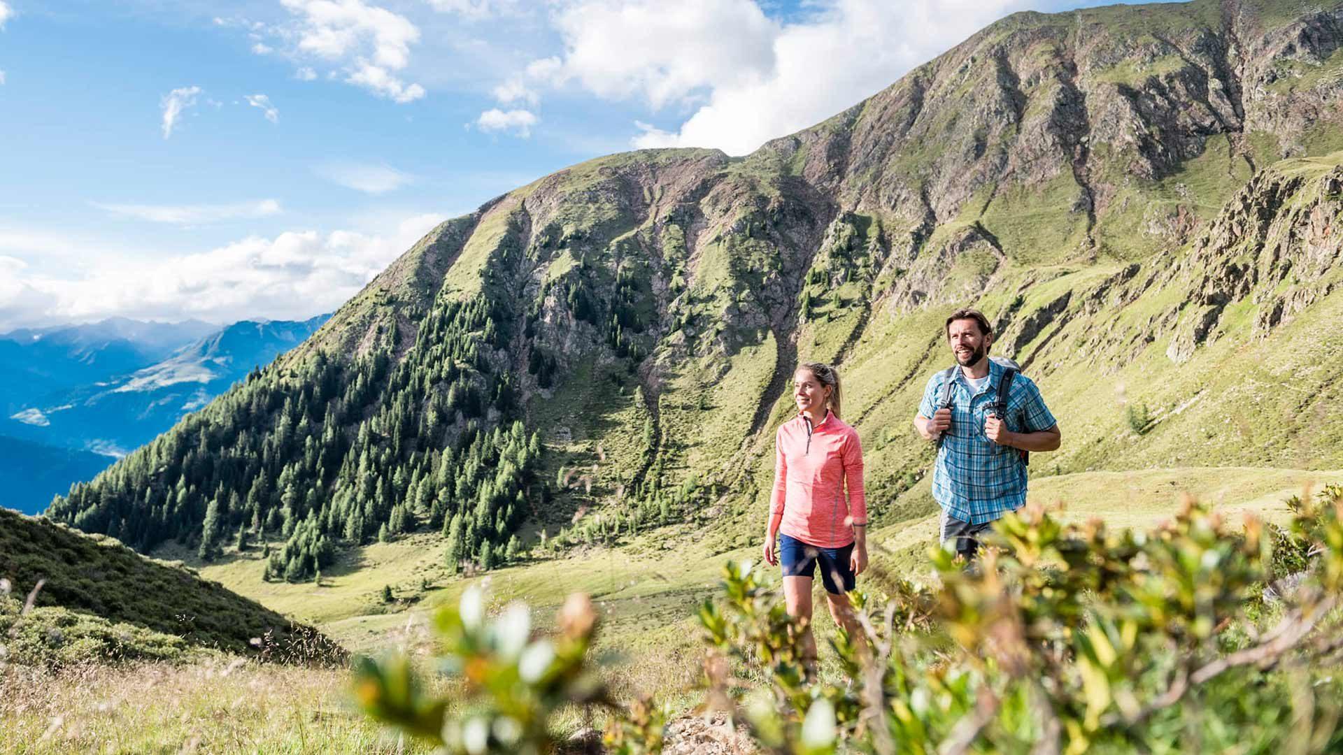 Vacanze escursionistiche a Scena
