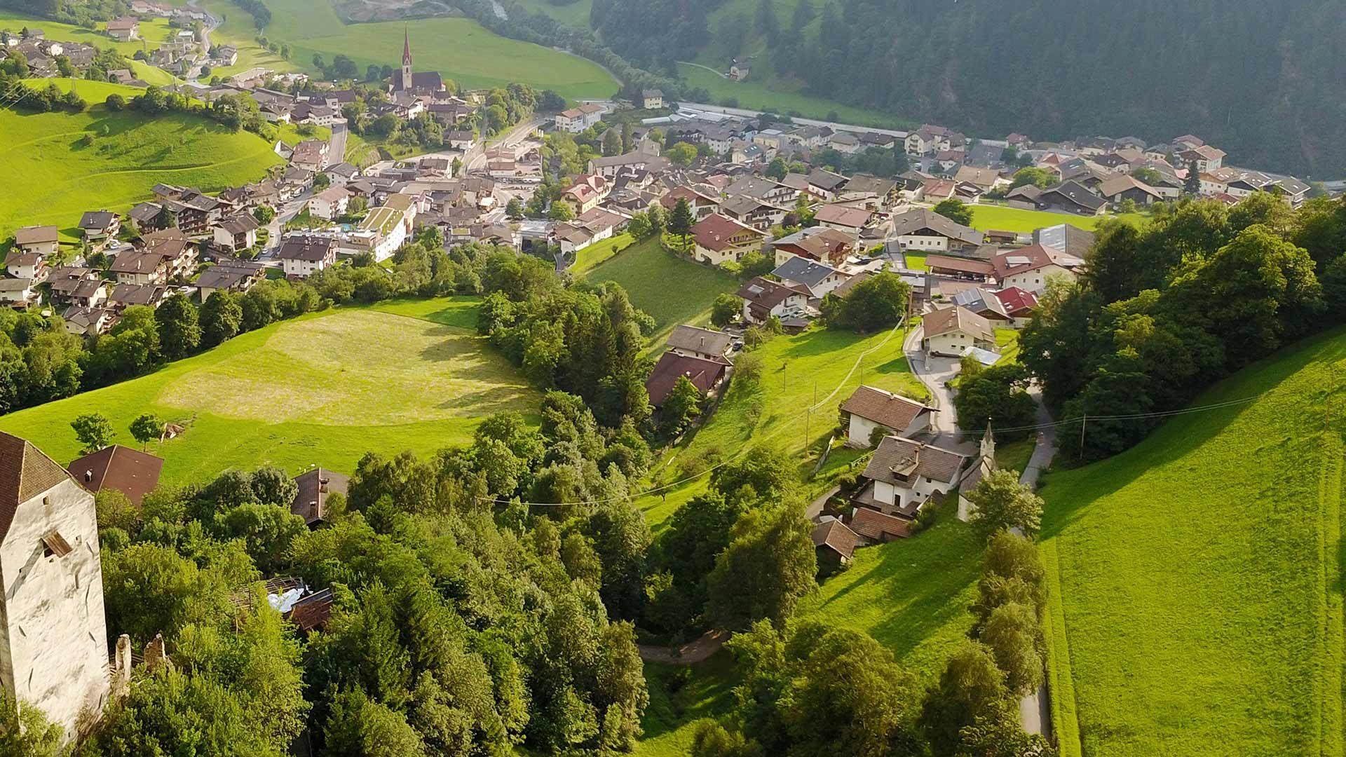 Centro principale della Val Passiria - San Leonardo