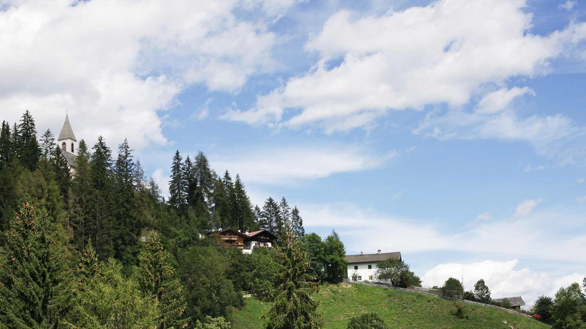 Vista su Santa Valburga