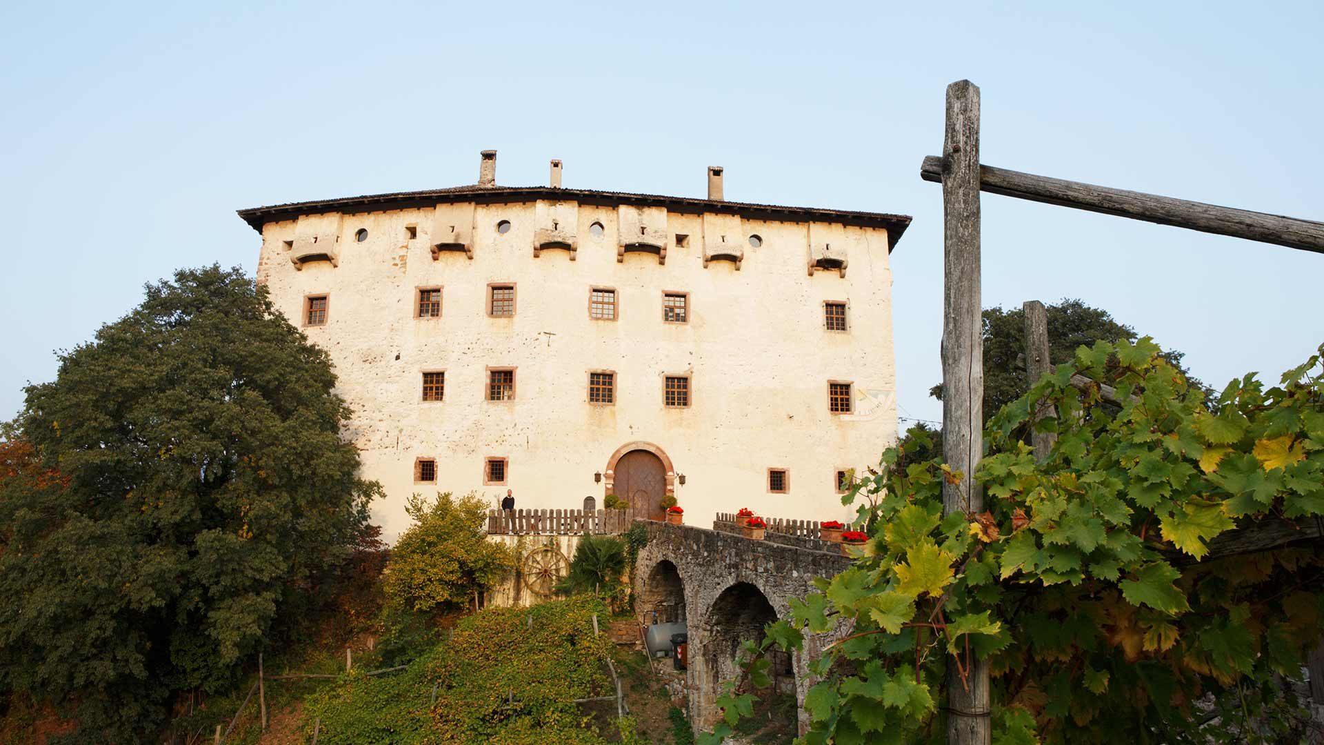 Castel Katzenzungen vicino a Prissiano