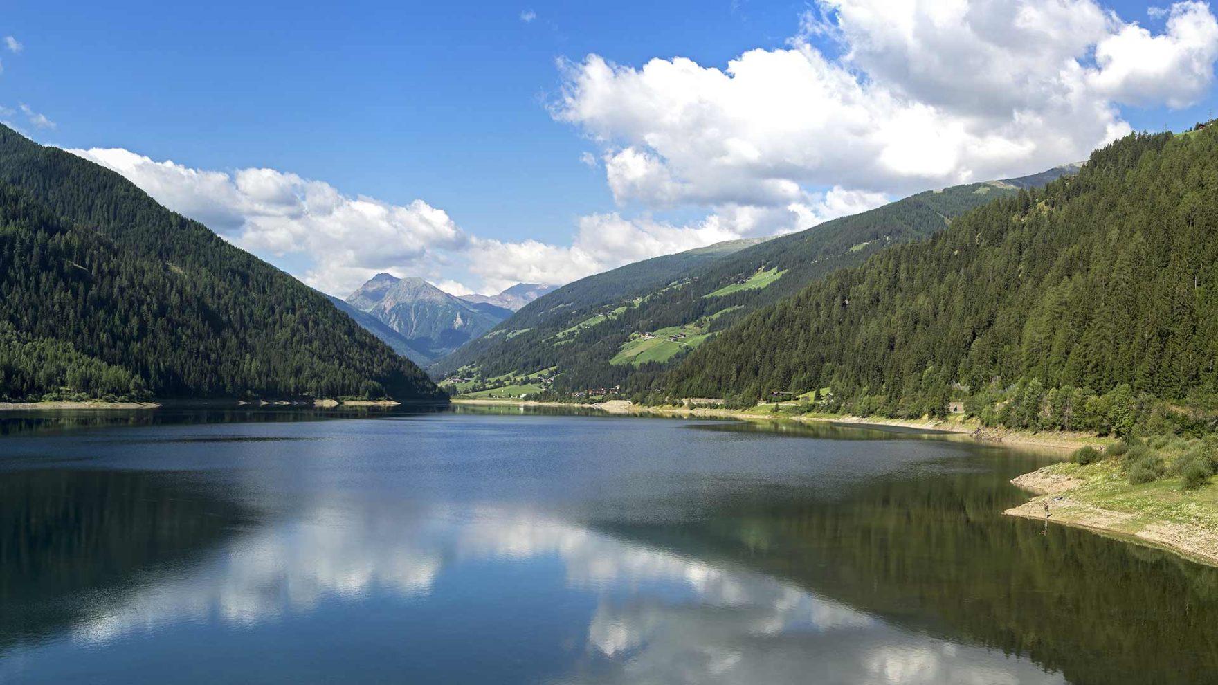 Lago nella Val d'Ultimo