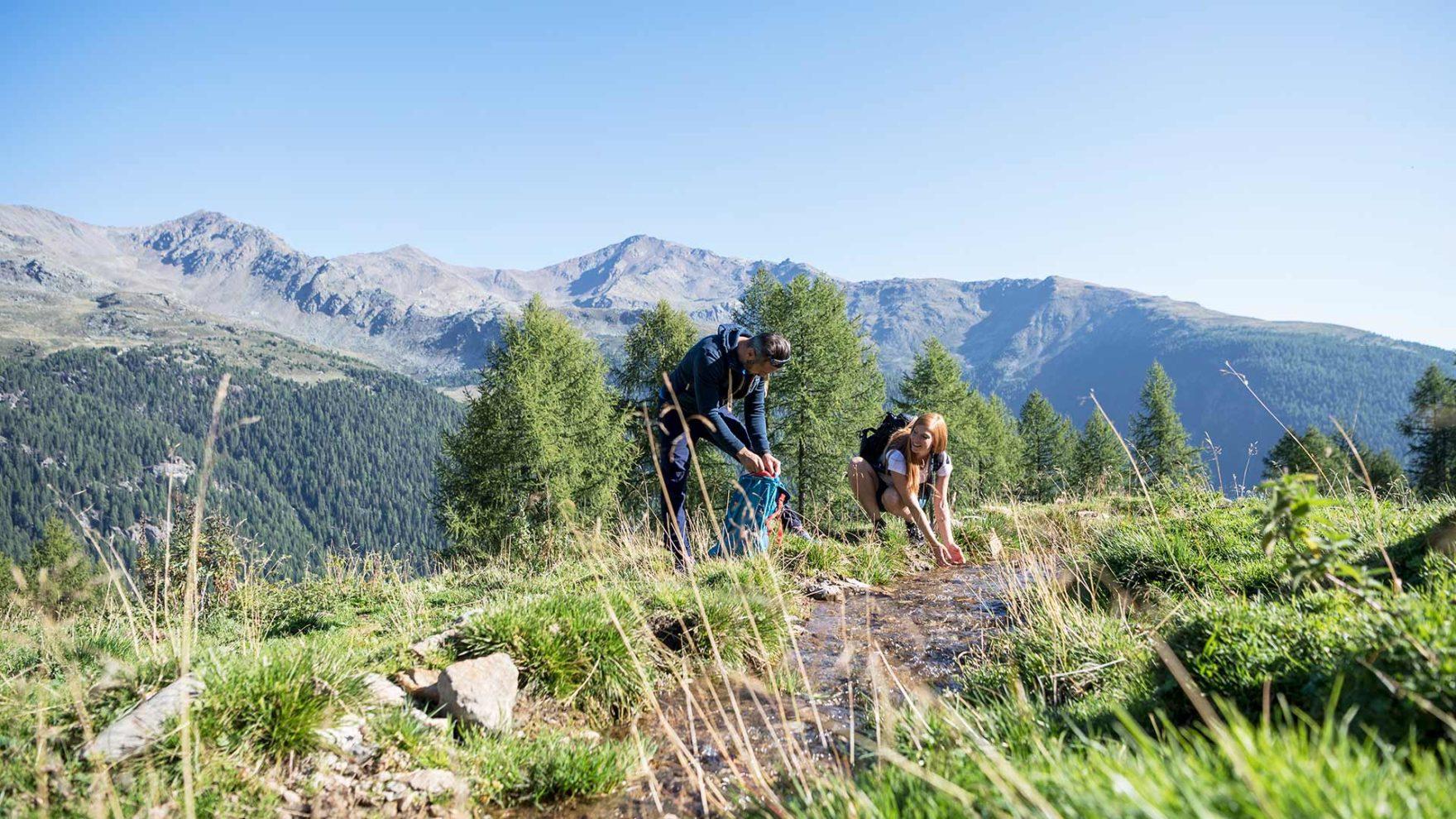 Escursionismo nella Val d'Ultimo