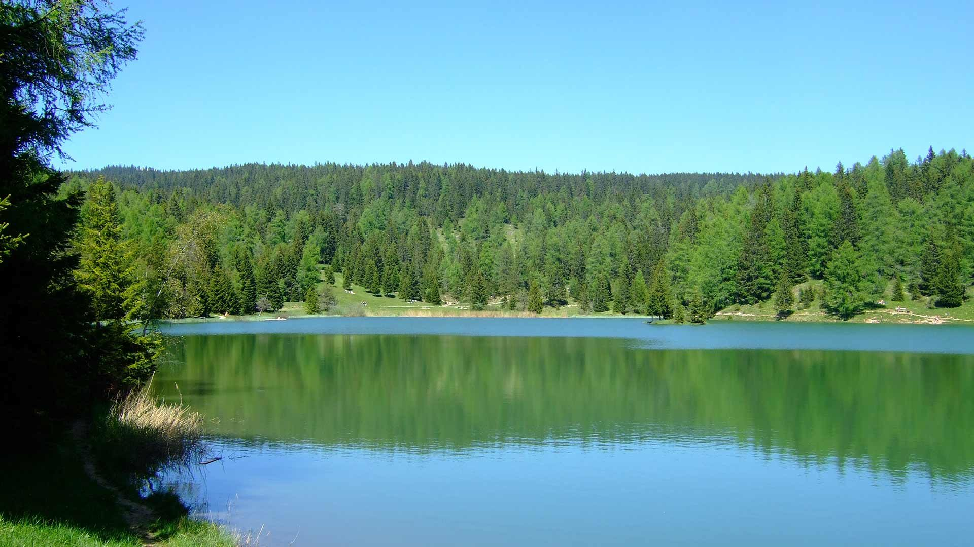 Lago di Tret a S. Felice