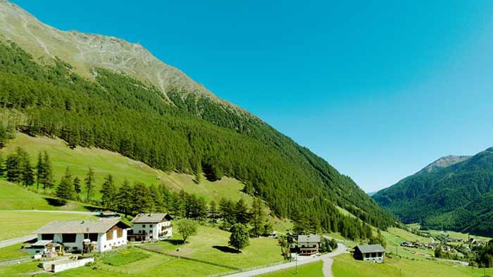 Panorama Val Senales