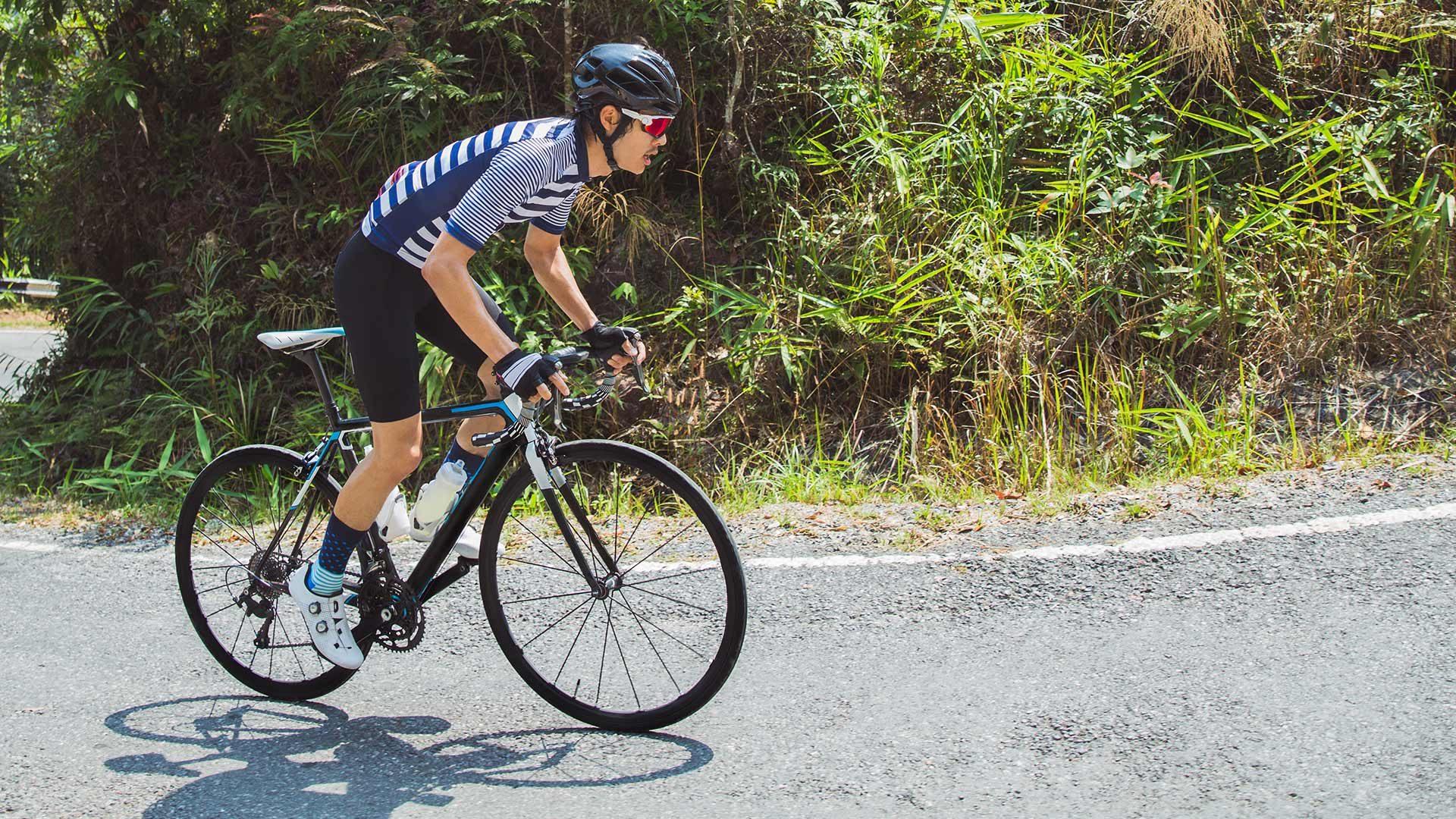 Giro in bicicletta Forcella di Brez