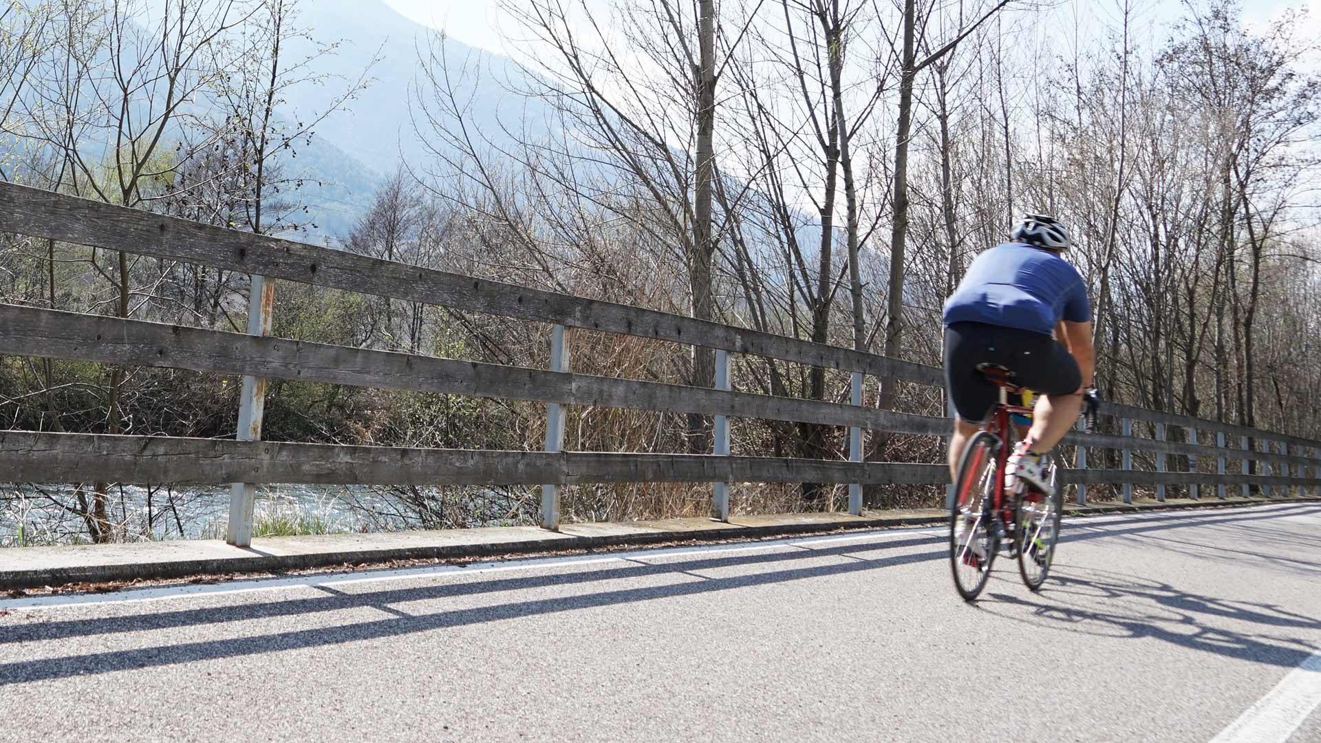 Tour in bicicletta - Pista ciclabile Val d'Adige