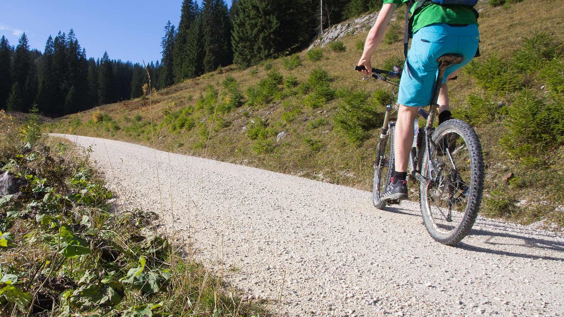 Tour in bicicletta alla malga Gampen