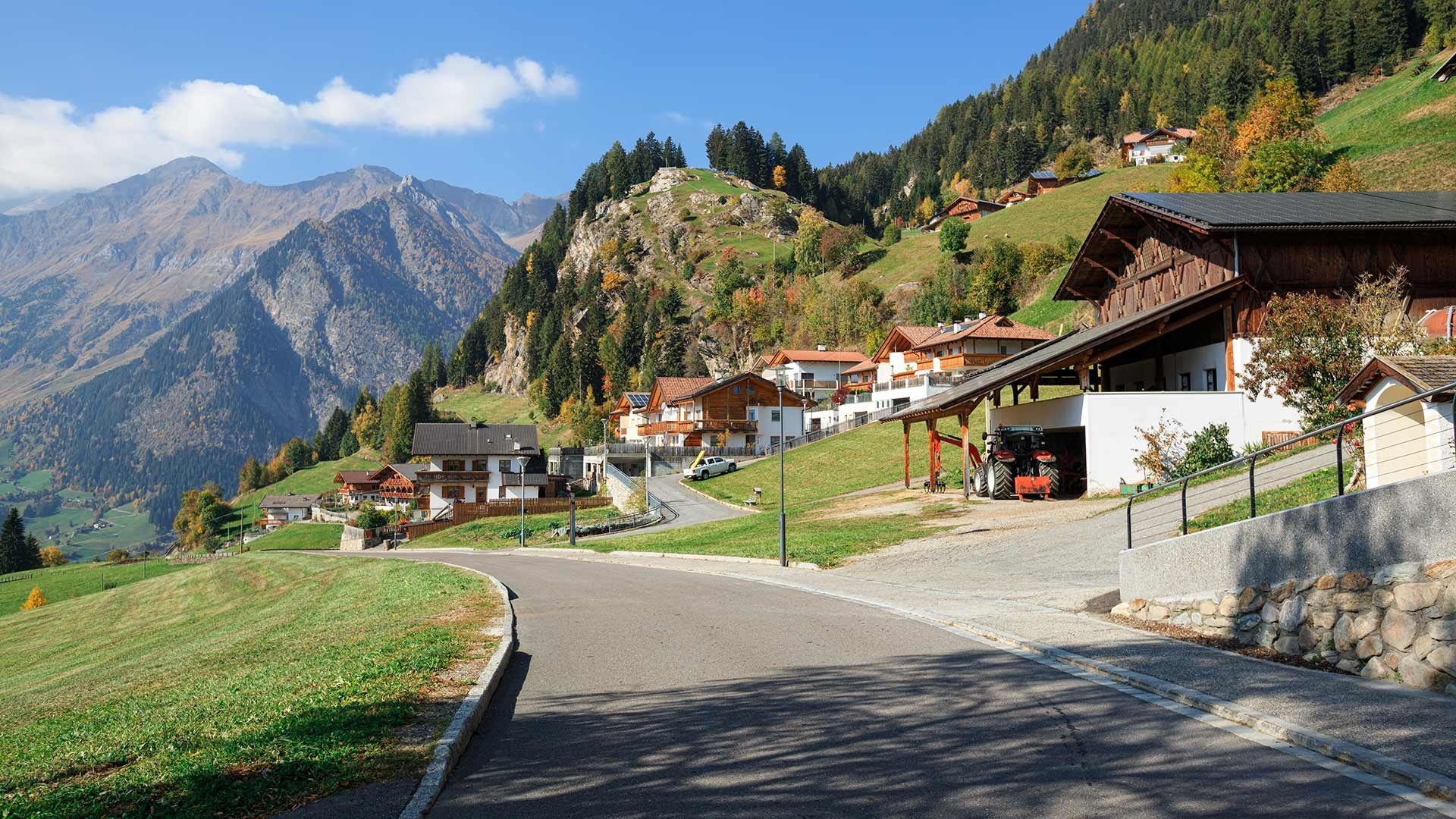 Piccolo tour della Val Passiria
