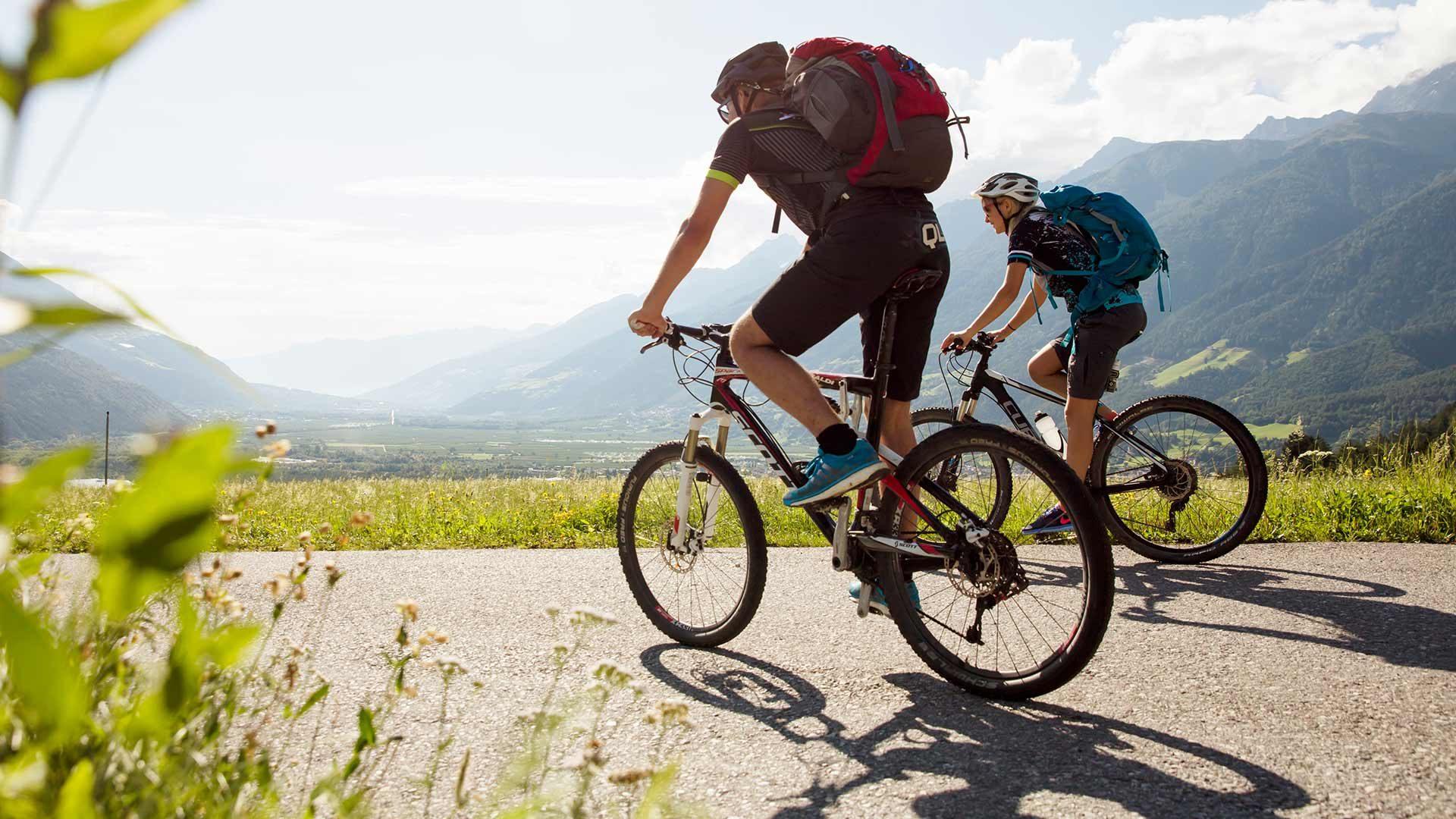 Tour in bicicletta Marlengo - Malles