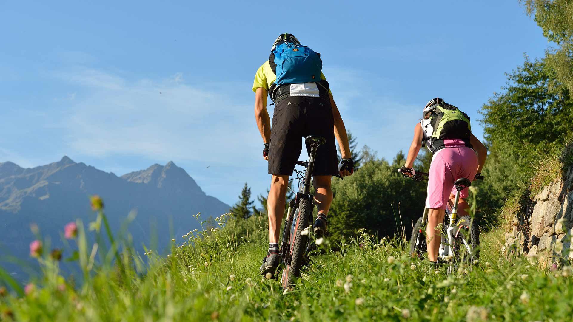 Tour in bicicletta alla malga Mausloch