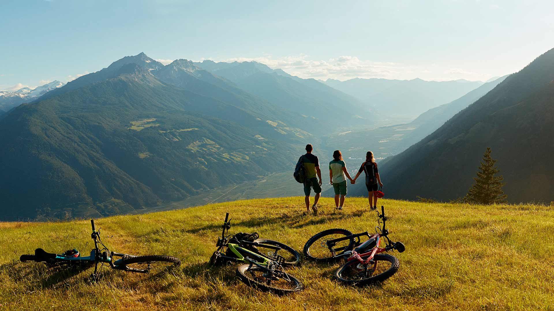 Tour in mountainbike al Monte S. Vigilio
