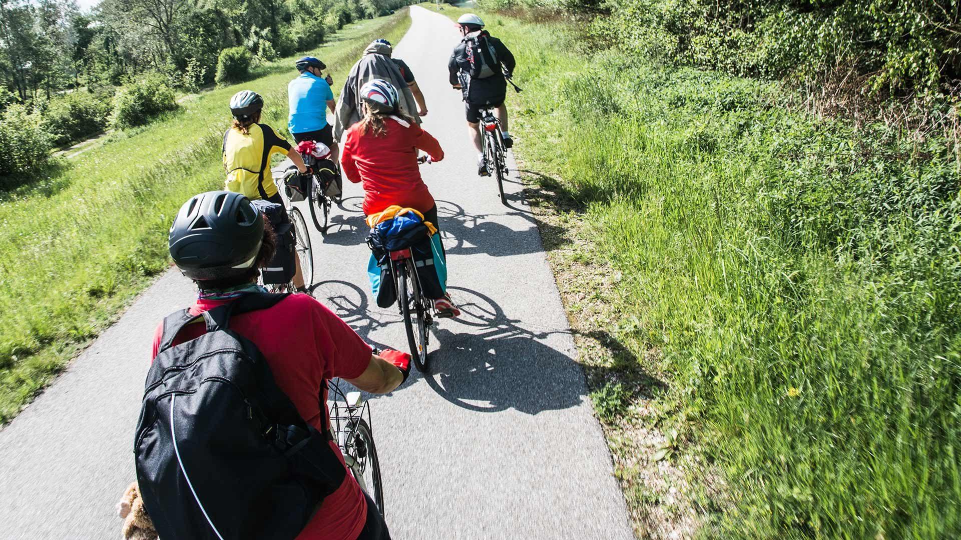 Tour in bicicletta Naturno - Tel presso Lagundo