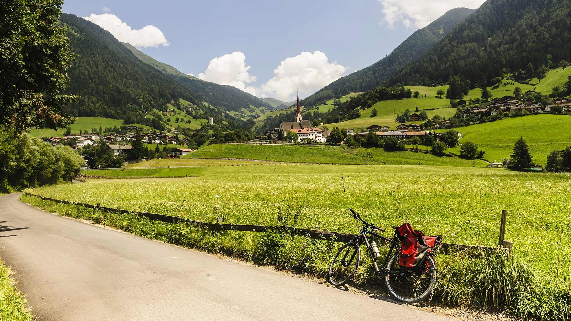 Pista ciclabile della Val Passiria