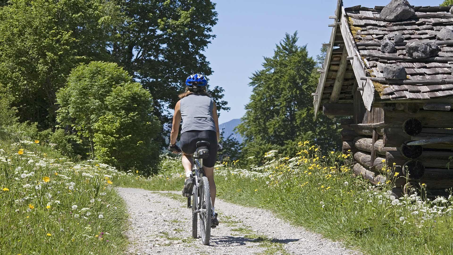 Tour in bicicletta alla malga Penauder