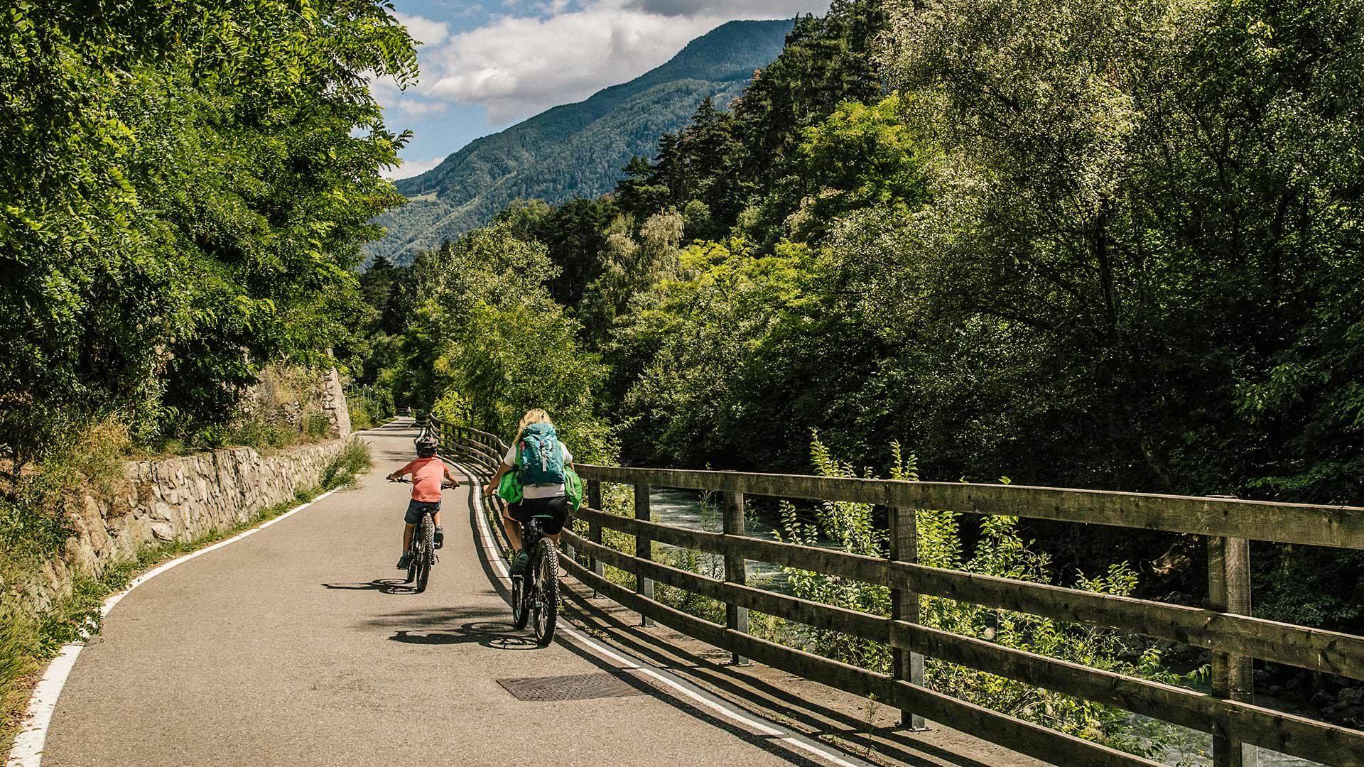 Tour in bicicletta Plaus – Silandro – Plaus