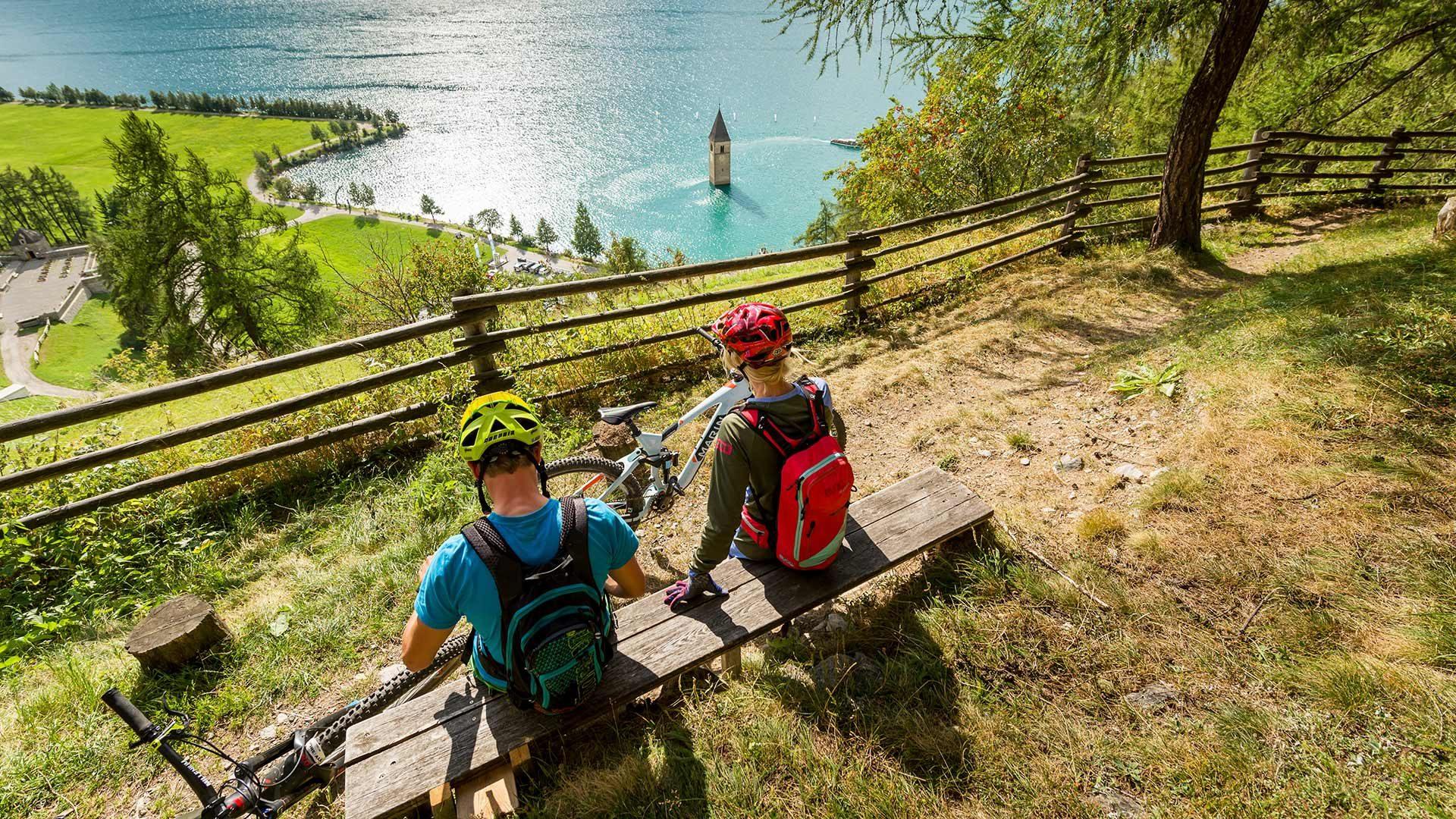 Ciclabile dell'Adige Rablà - Resia
