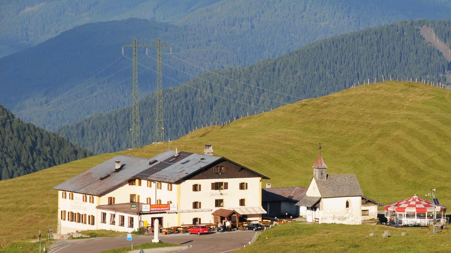 Passo di Giovo in Alto Adige - Con la bici da corsa