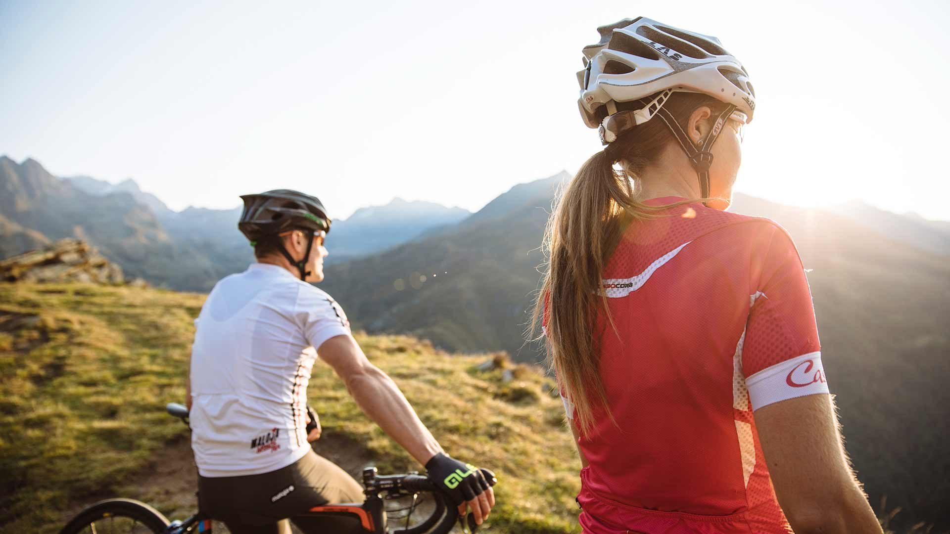 Con la bici da corsa - Passo del Rombo