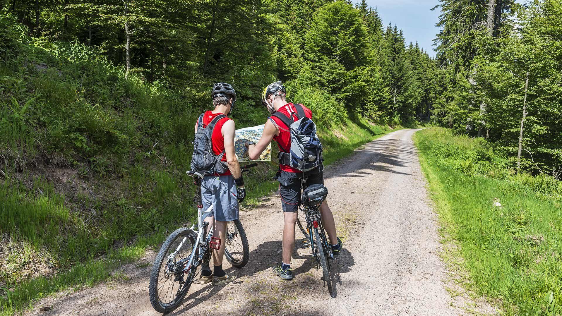 Tour in bicicletta - Val di Sopranes
