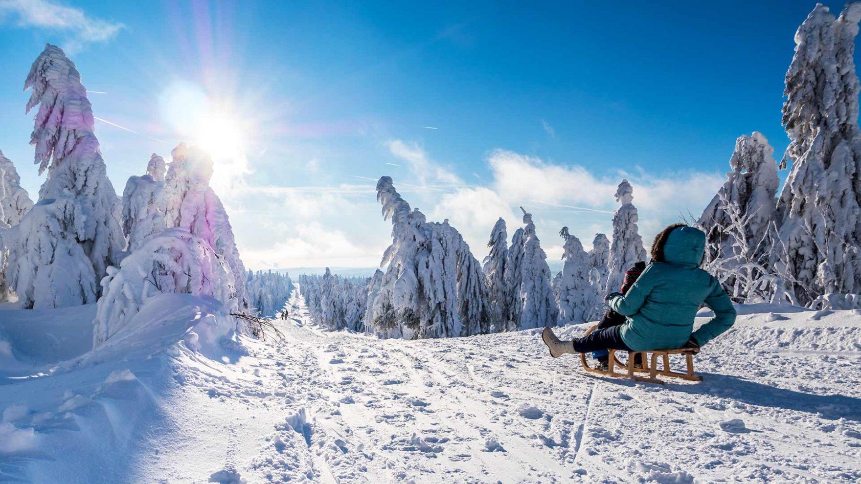 Cosa fare in inverno con il bel tempo