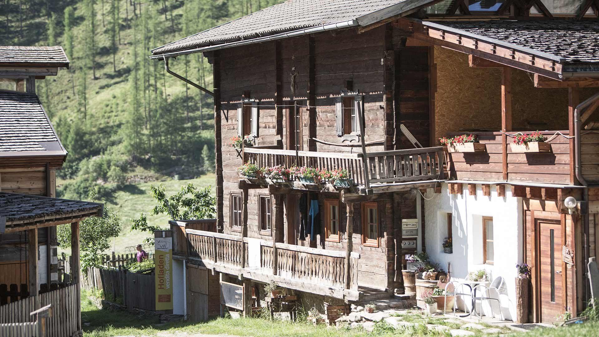 Maso storico e biologico Oberniederhof