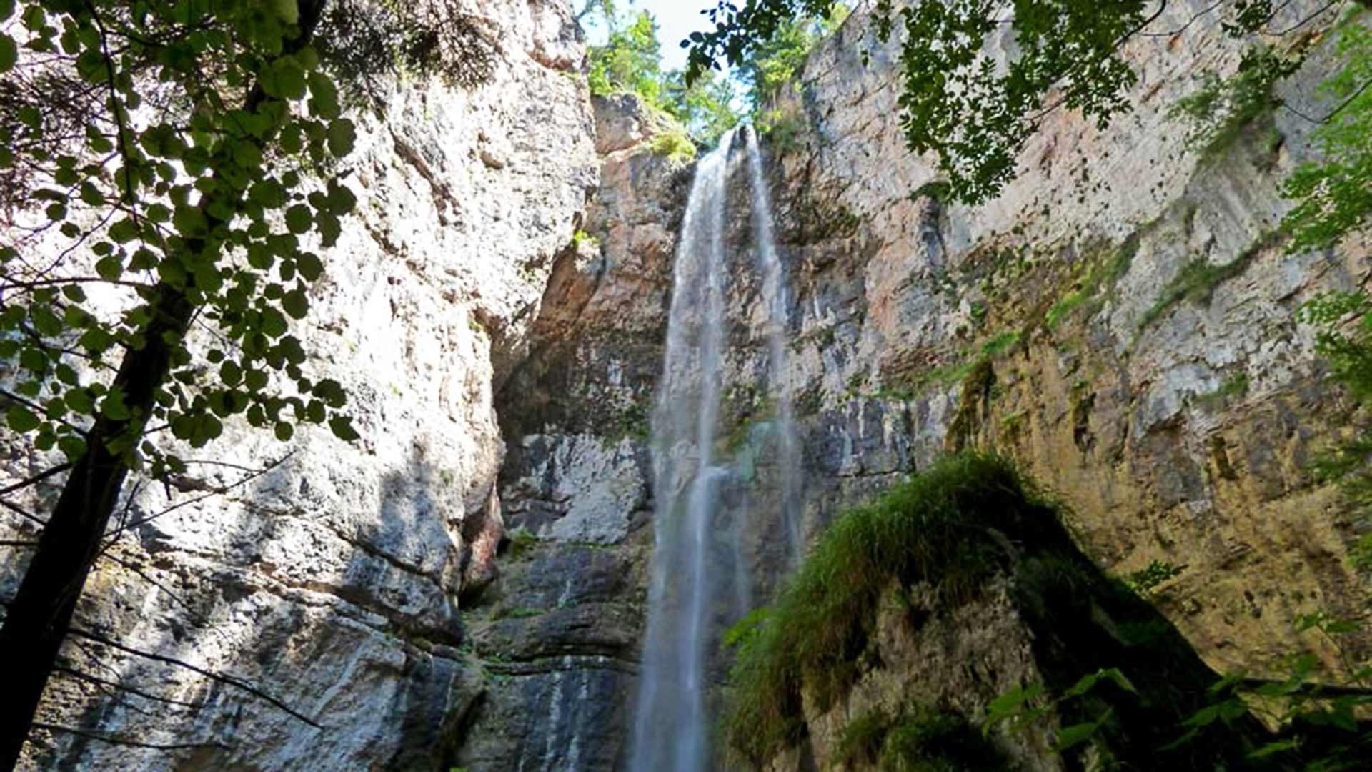 Le cascate di San Felice in Alta Val di Non