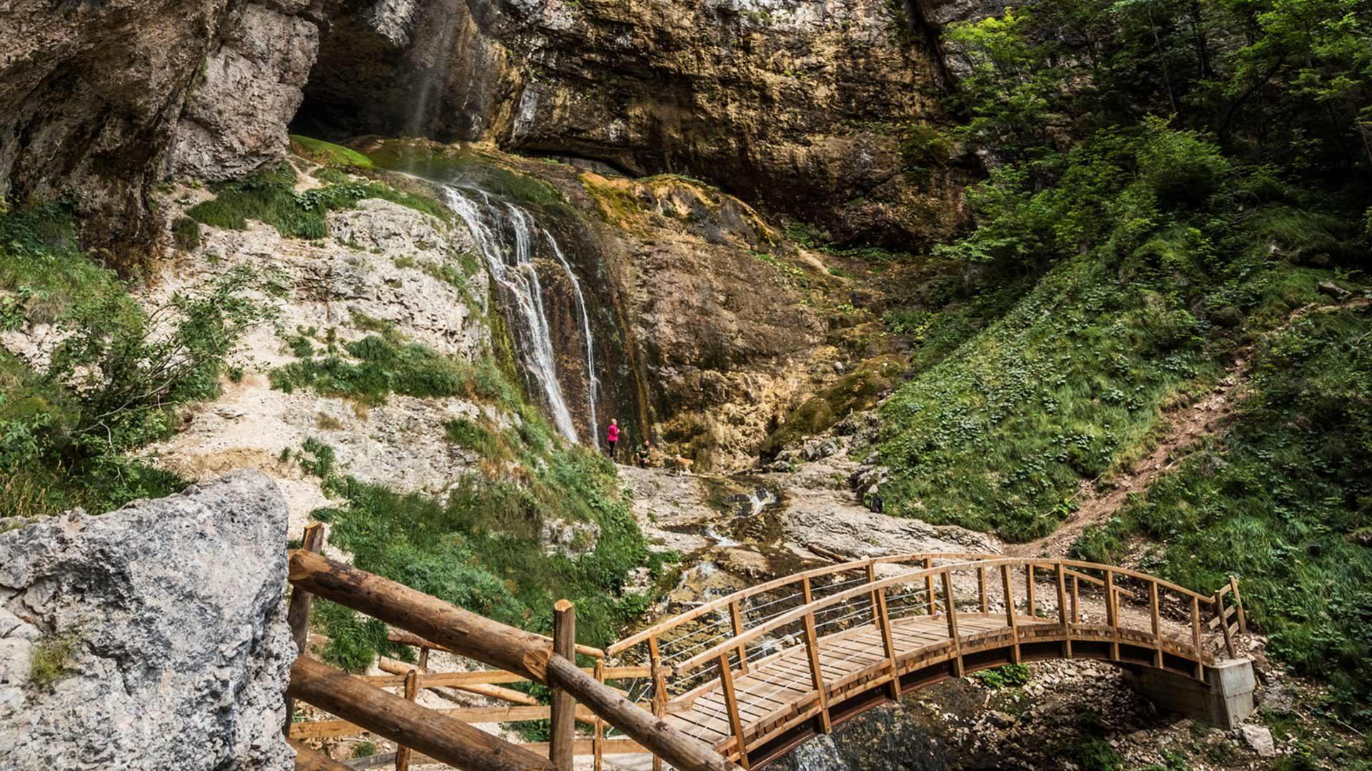 Le cascate di San Felice