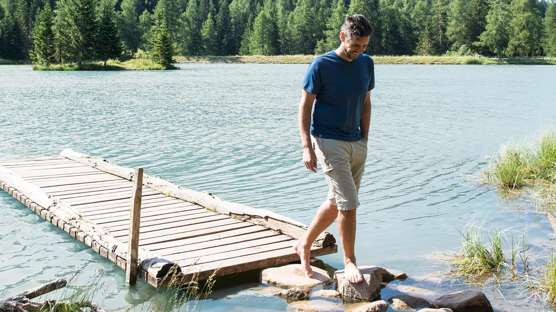 Lago di Tret in Alto Adige