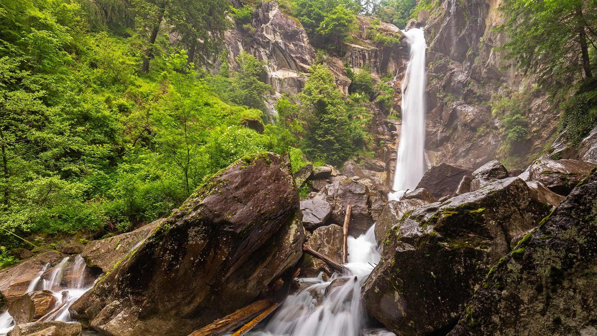 La cascata di Valclava