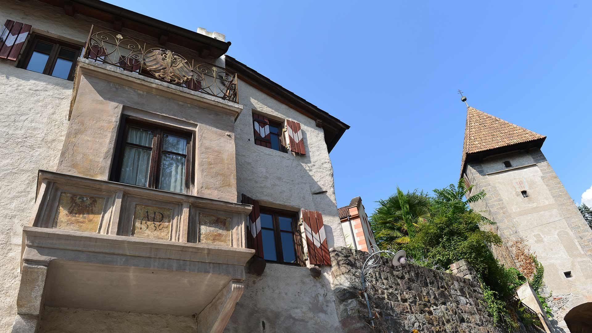 Il centro storico di Merano in Alto Adige