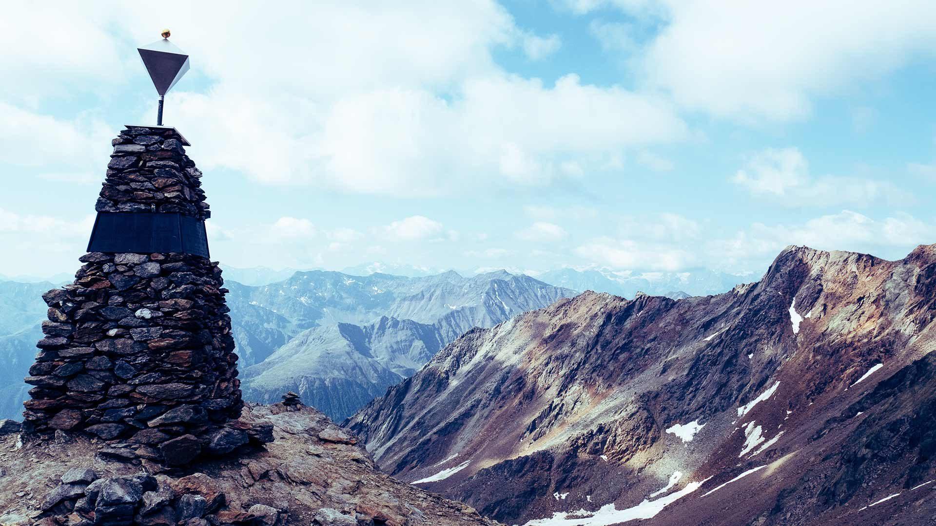 Punto di ritrovamento di Ötzi - Val Senales