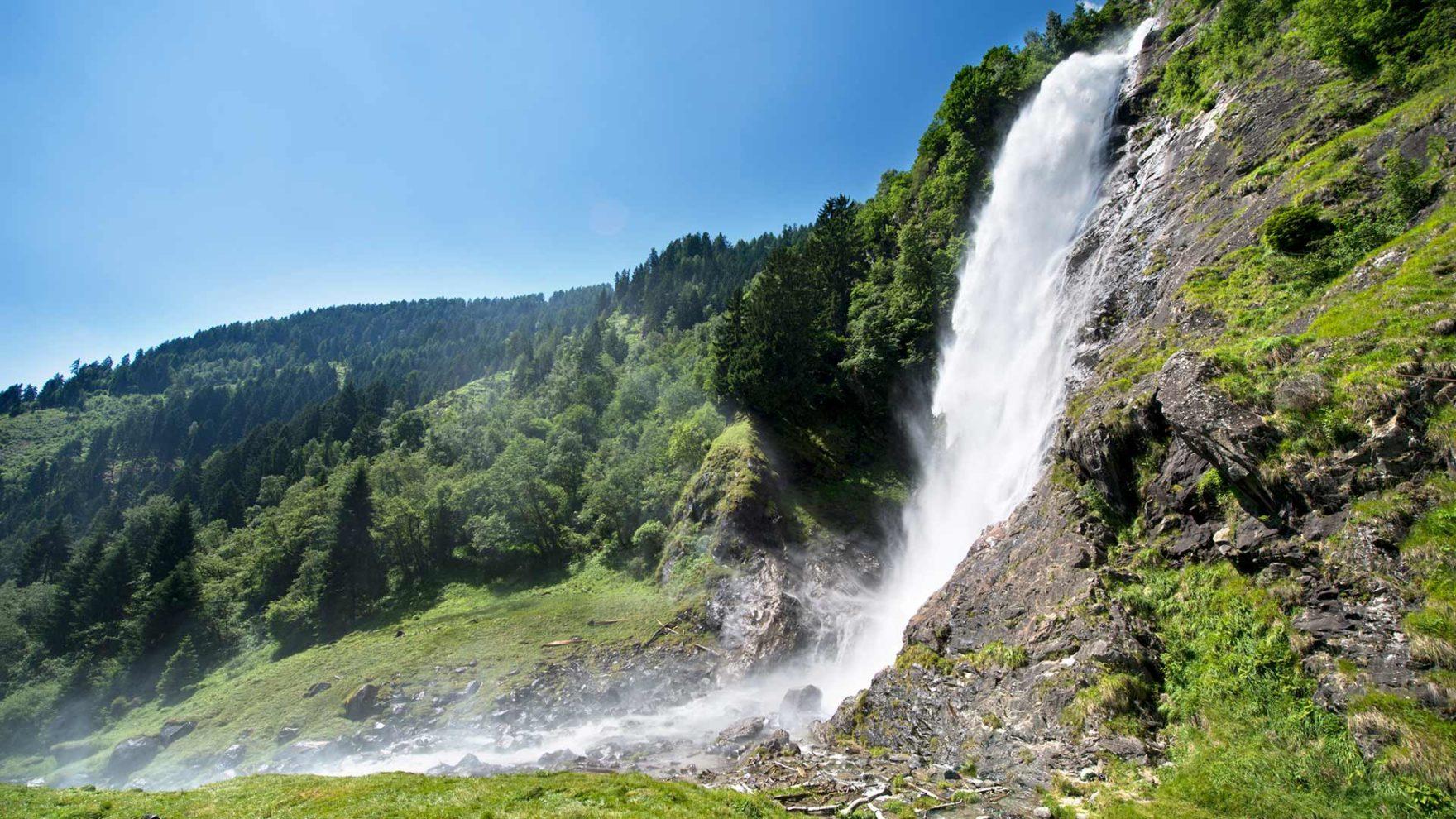 La cascata di Parcines