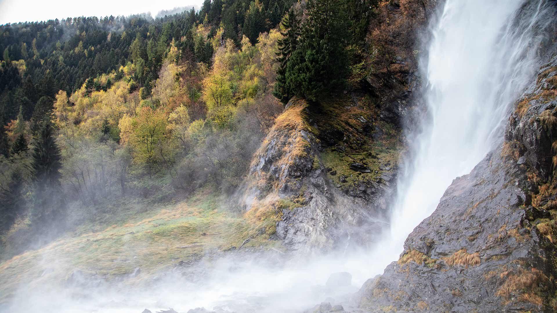 Una gita alla cascata di Parcines