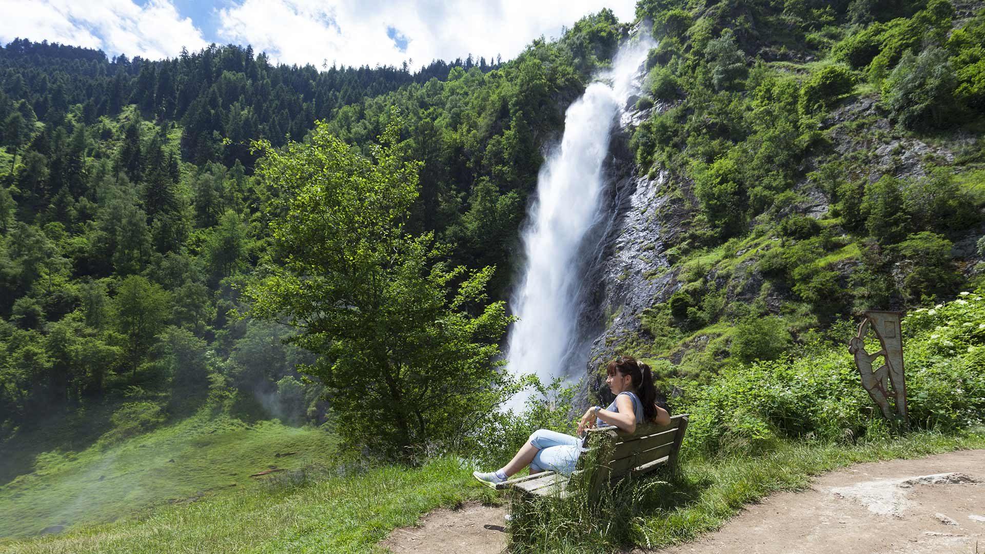 La cascata di Parcines in Alto Adige
