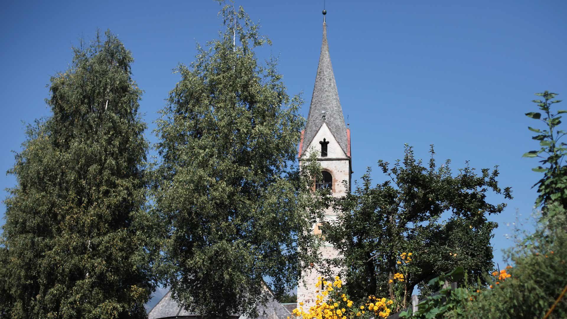 La chiesa parrocchiale di Lauregno