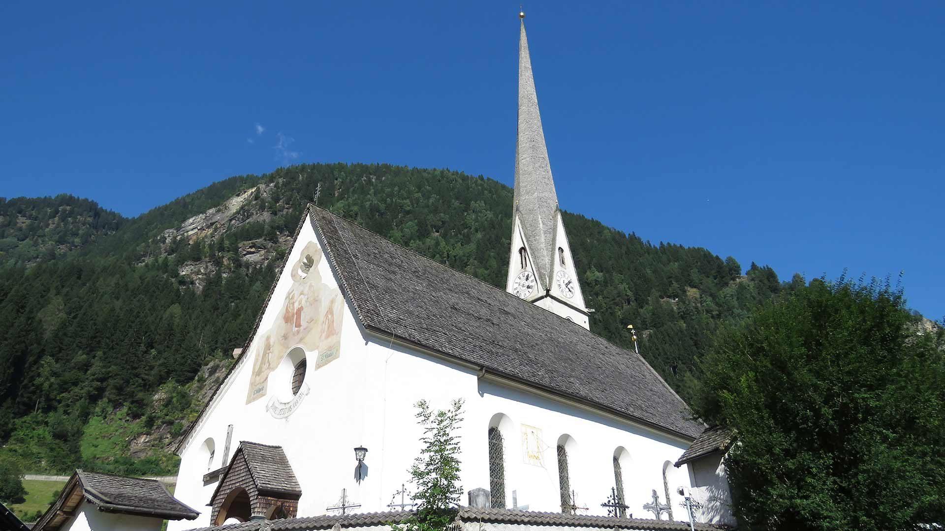 La Chiesa Parrocchiale Santa Maria Assunta a Moso