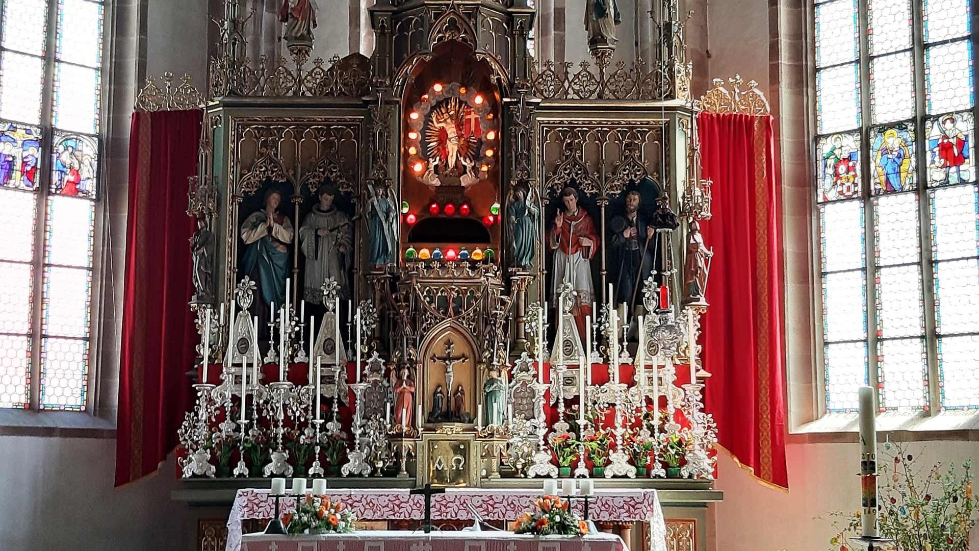 La Chiesa Parrocchiale Maria Assunta a Tesimo